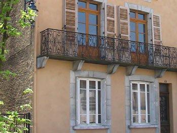 Your very own balcony overlooking the village