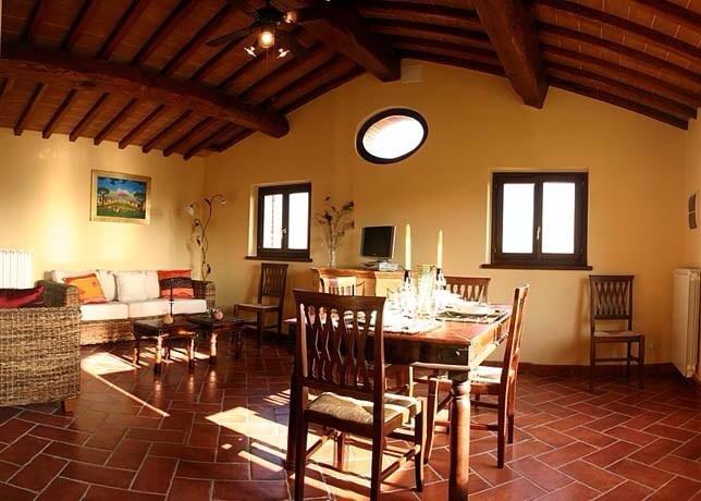 sitting room in la Casina