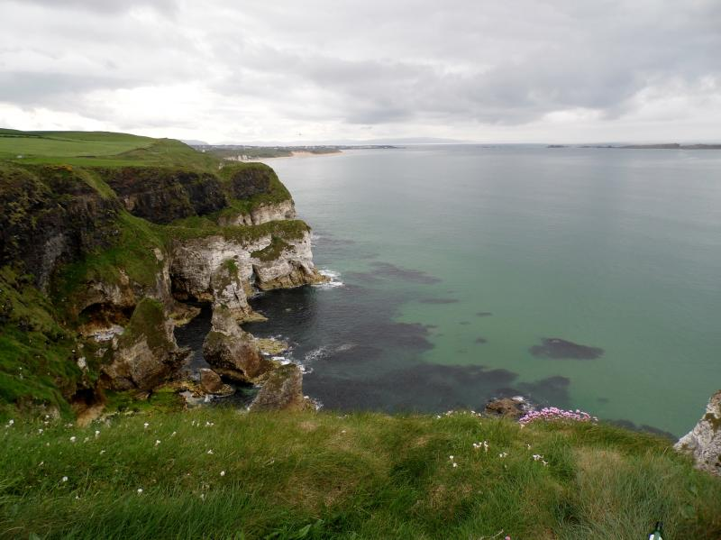 View from the Causeway Coastal Route - a short drive from the cottage