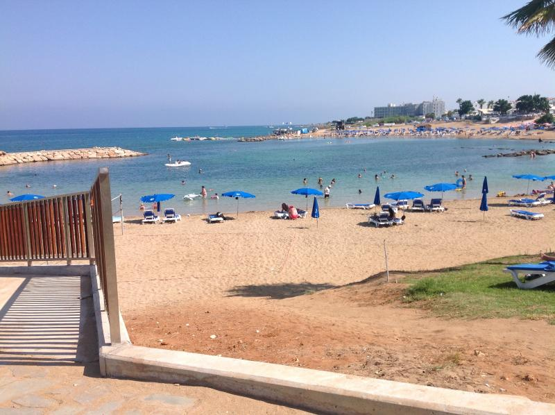 Another beautiful beach, Golden Coast, next to the Harbour, all within an 8 minute walk....
