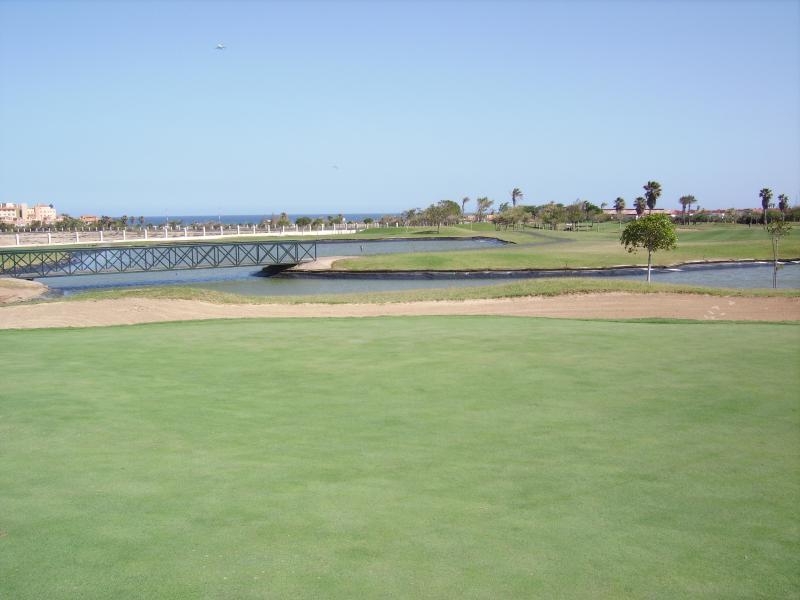 Komplexe Golfplatz