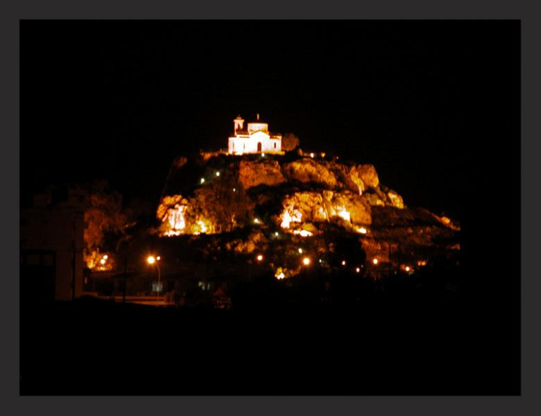 View of Ayios Ellias Church from Villa