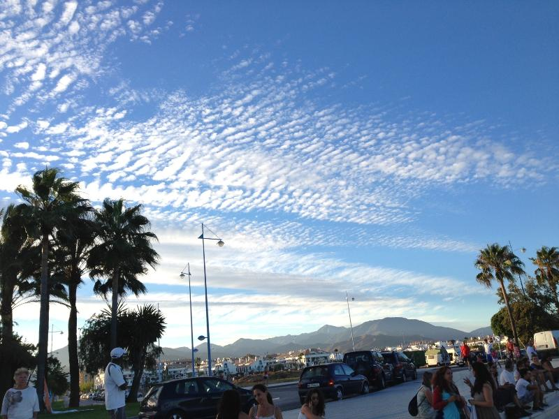 San Pedro Boulevard is the place to go for an evening stroll