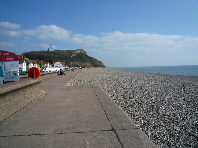 Seaton Seafront Looking East