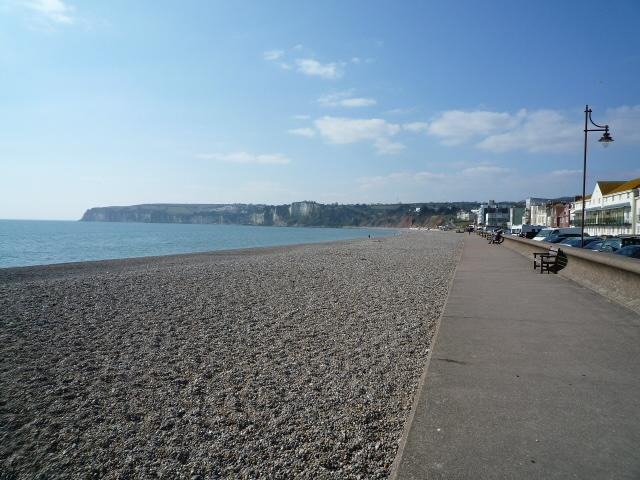 Seaton Seafront Looking West