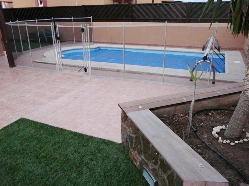 Private Heated Pool with Child Safety Fence