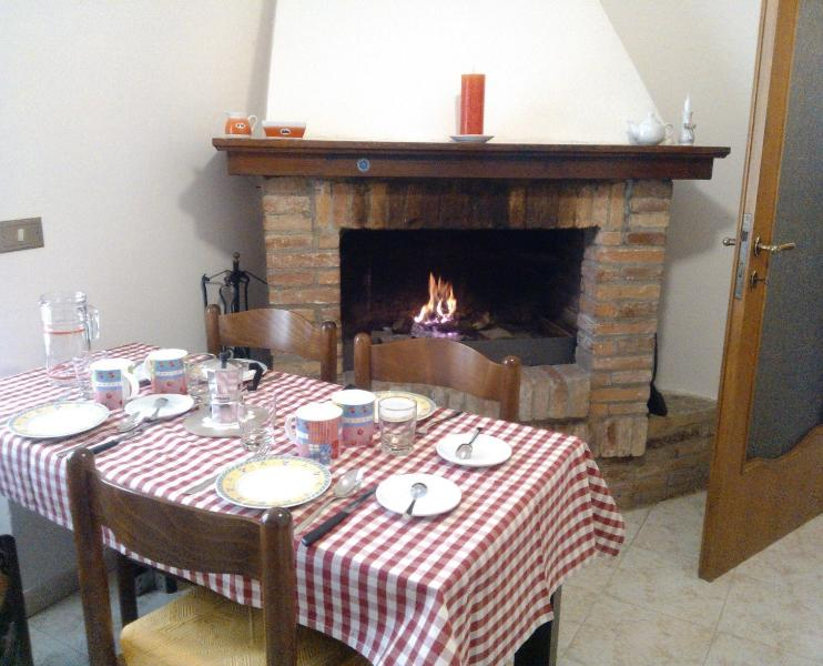 Caminetto / Open fireplace
