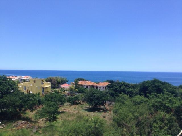Vista sobre o mar da varanda
