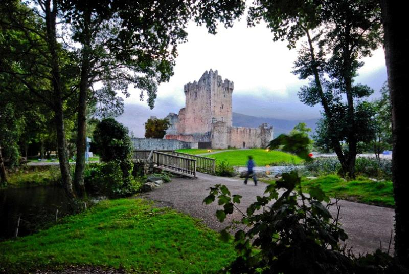 Ross Castle about 3 miles from Killarney