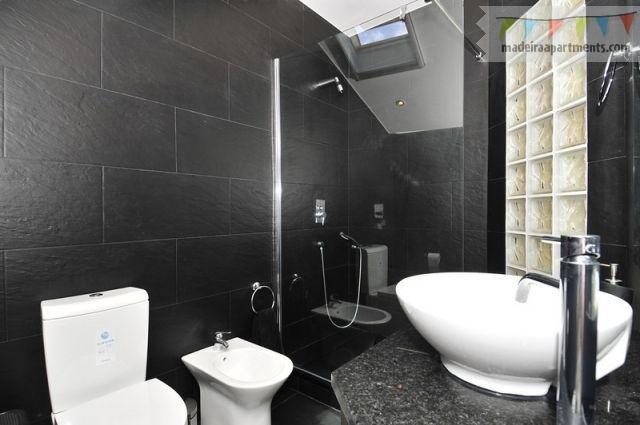 Luxury en-suite shower room, WC & Bidet. Auto close Velux window. Solar panel heats all hot water
