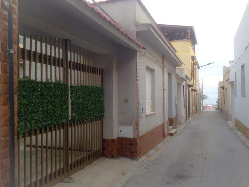 Street and gate