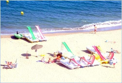 The Beach across the Paseo.