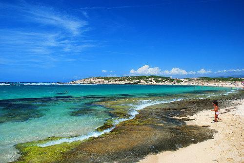 Sardinian coast area