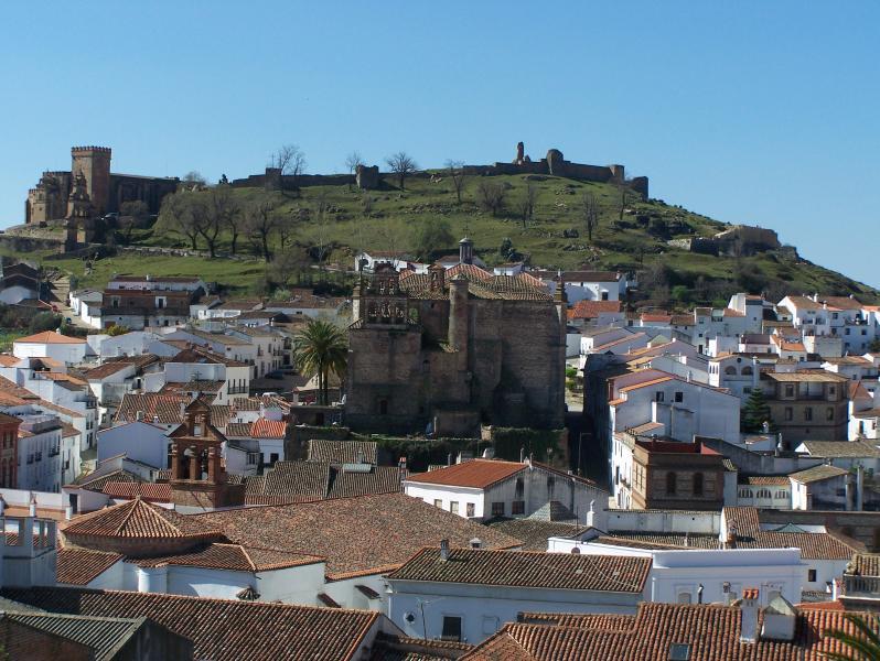 Aracena - the local rural town