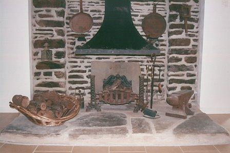 Lareira tradicional