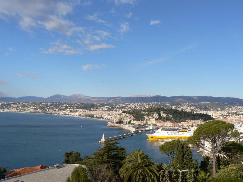 View of Nice from the terrace