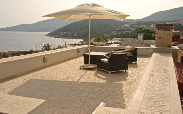 Large roof terrace with the most fabulous views
