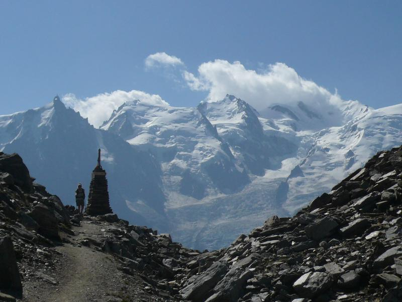 Hiking - Col du Brevent - view of Mont Blanc