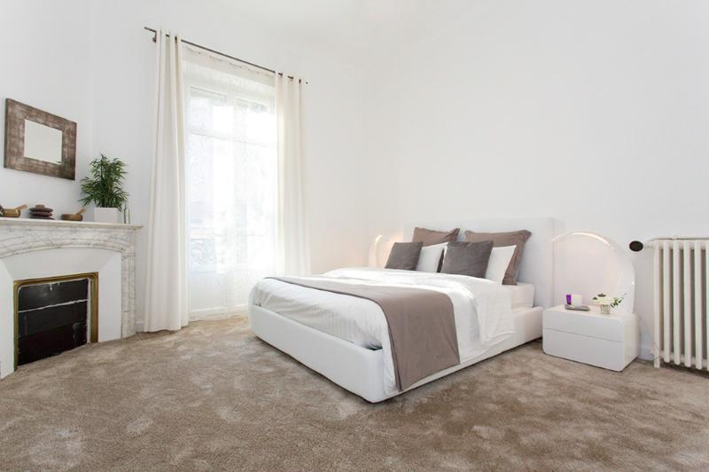 The master bedroom, 1 double bed