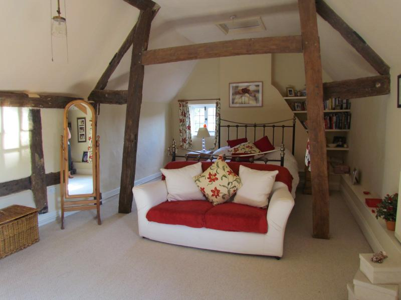 Bedroom 1 King & Single bed at Home Farmhouse