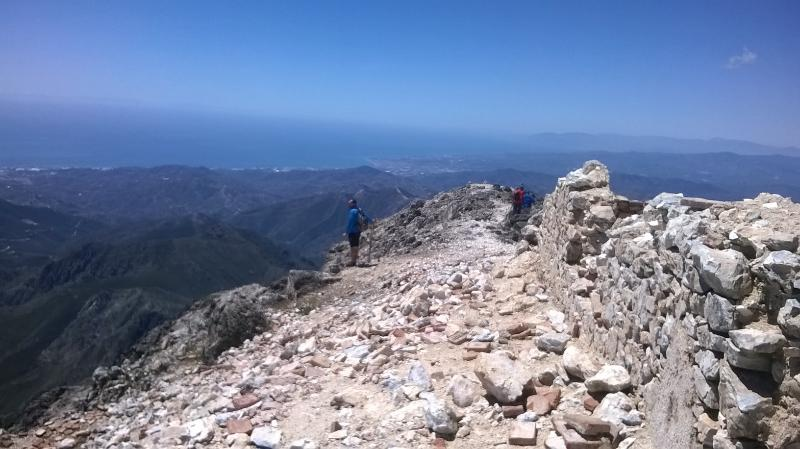 Top of Los Cerro 1700m