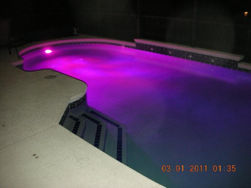 PoolSpa iluminação