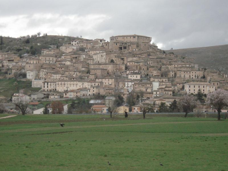 The beautiful and medieval village of Navelli!!