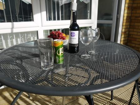 Light refreshments?