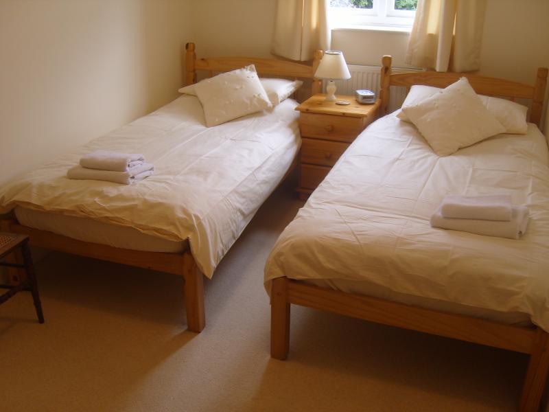 Twin bedroom - one