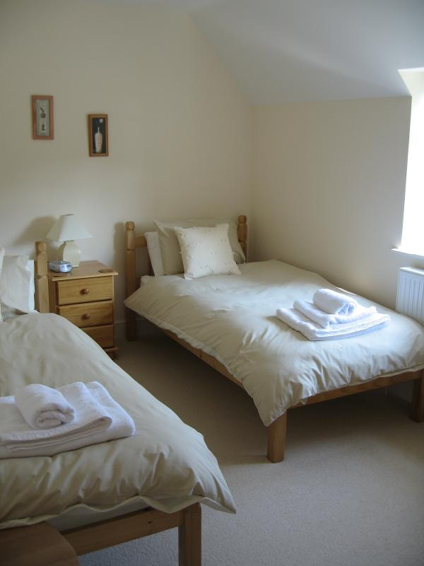 Twin bedroom - two