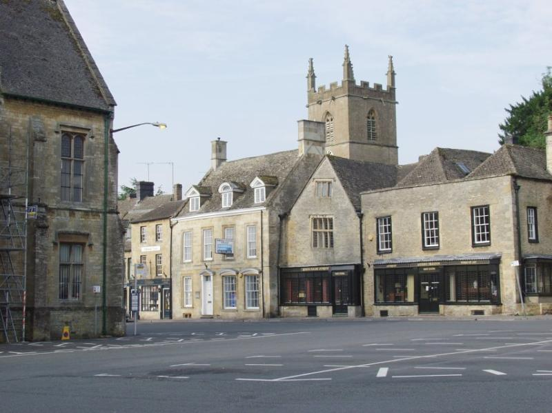 Another view of the Market Square in Stow