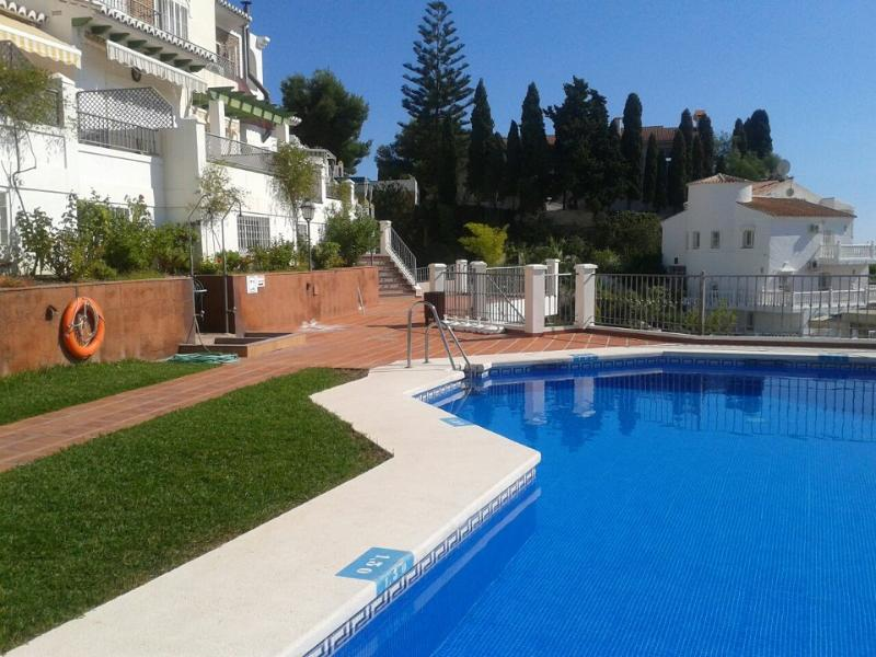 Full size pool for a cooling swim is set in peaceful gardens at Casa Kaira