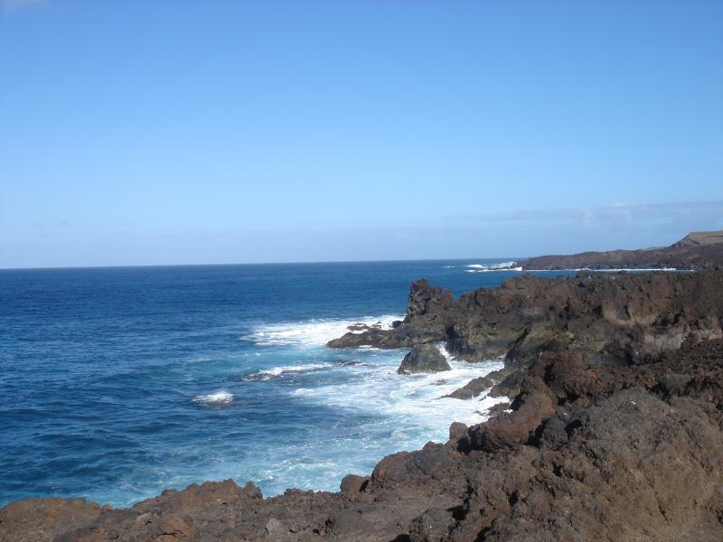 The Boiling Kettle Holes at Janubio