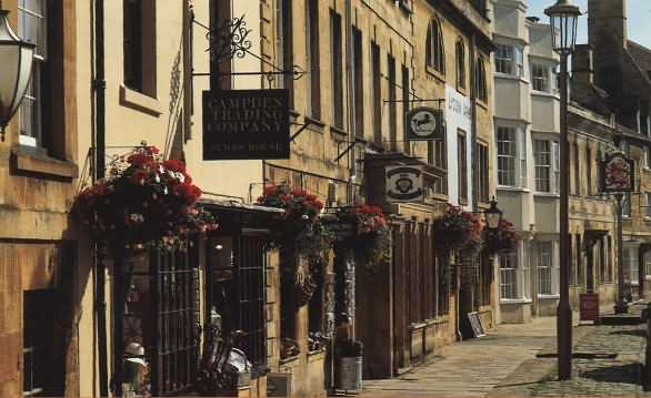 Chipping Campden, 15 minutes' drive away