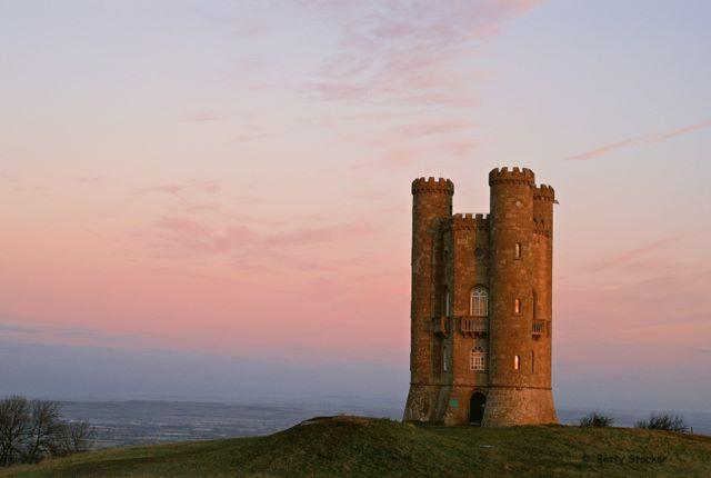 Broadway Tower, 20 minutes' drive away