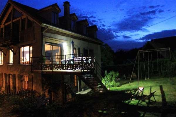 Summer night, the terrace
