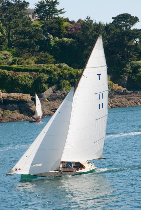 Sailing in Fowey