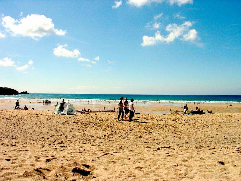 Fistral Beach - great for surfing!