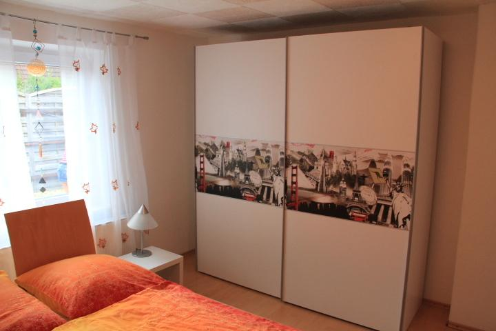 Bedroom with double bed 160 / 200