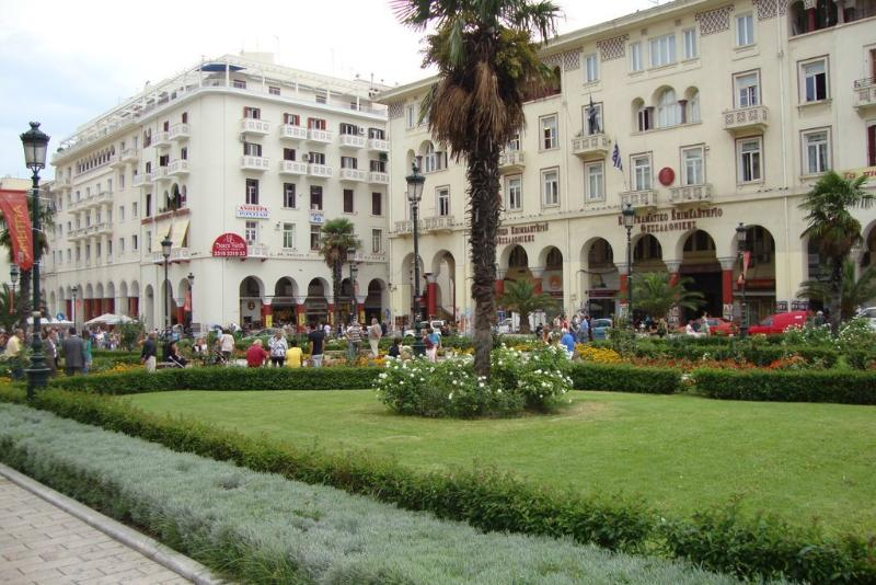 Apt direkt neben Thessaloniki ist Hauptplatz