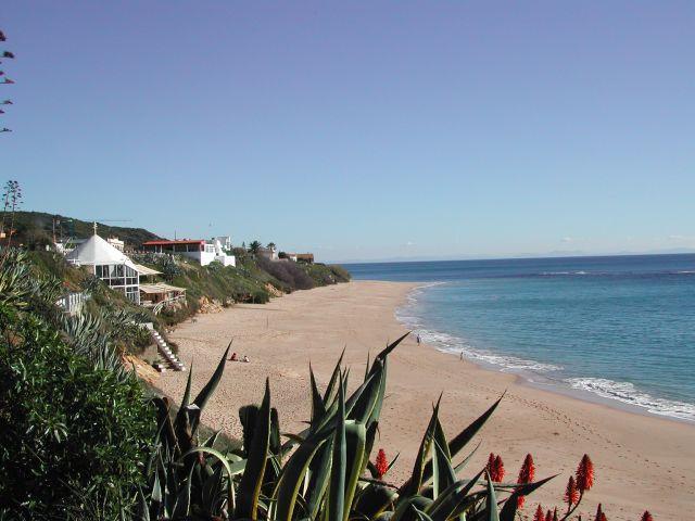 Playa de Los Caños de Meca, zona de 'La Jaima' o 'El Pirata' a unos 100 metros d