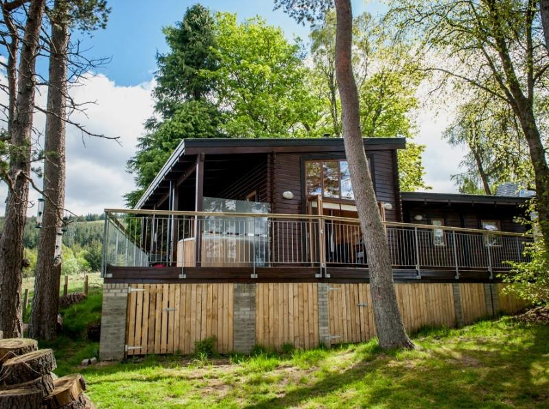 Braes Lodge, holiday rental in Aberfeldy