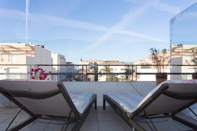 The terrace, sun decks