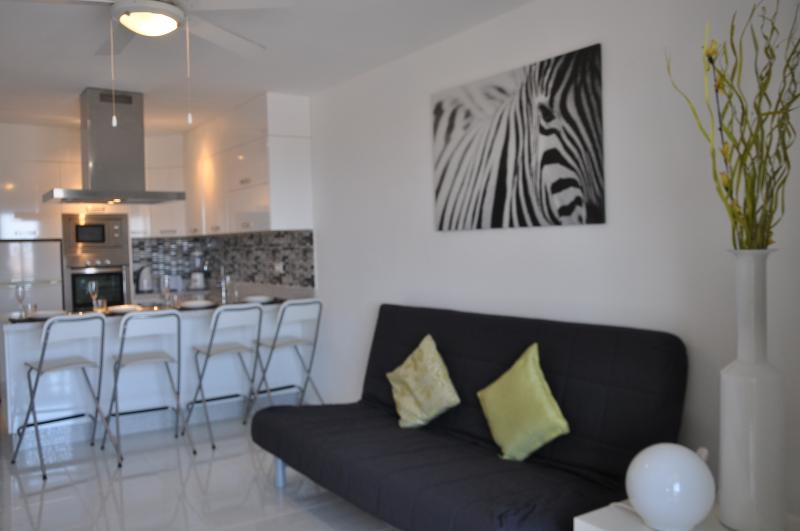 Luxury apartment with a lovely sea view, holiday rental in Los Cristianos