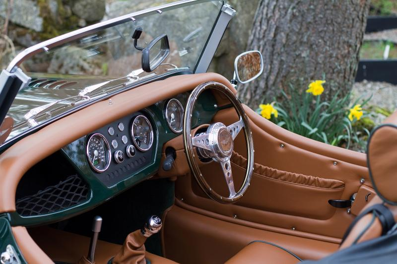 Style and Nostalgia - Braes Lodge Morgan Experience