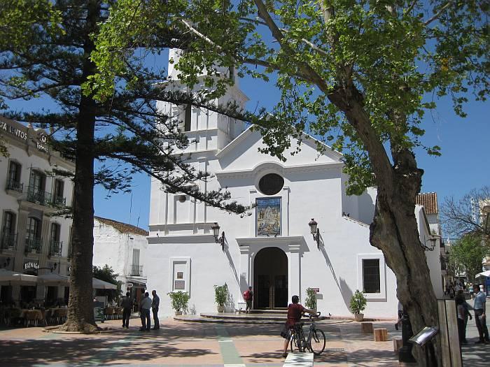 El Salvadore church near the Balcon de Europa.  The weddings and festivals here are beautiful.