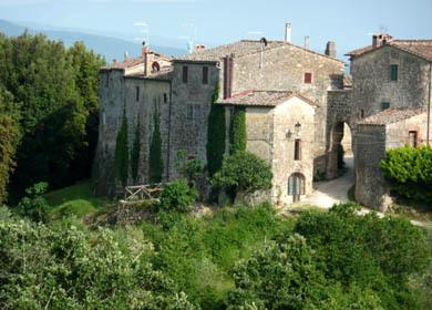Vista del Castello / view of the Castle