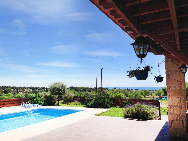 poolside seaview
