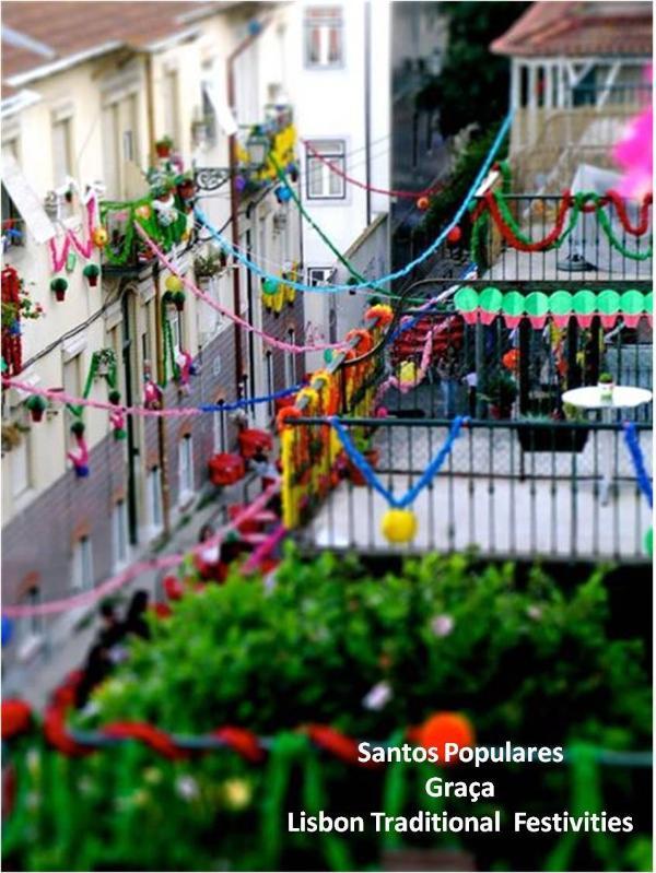 Lisbon Popular festivities in Graça (June)