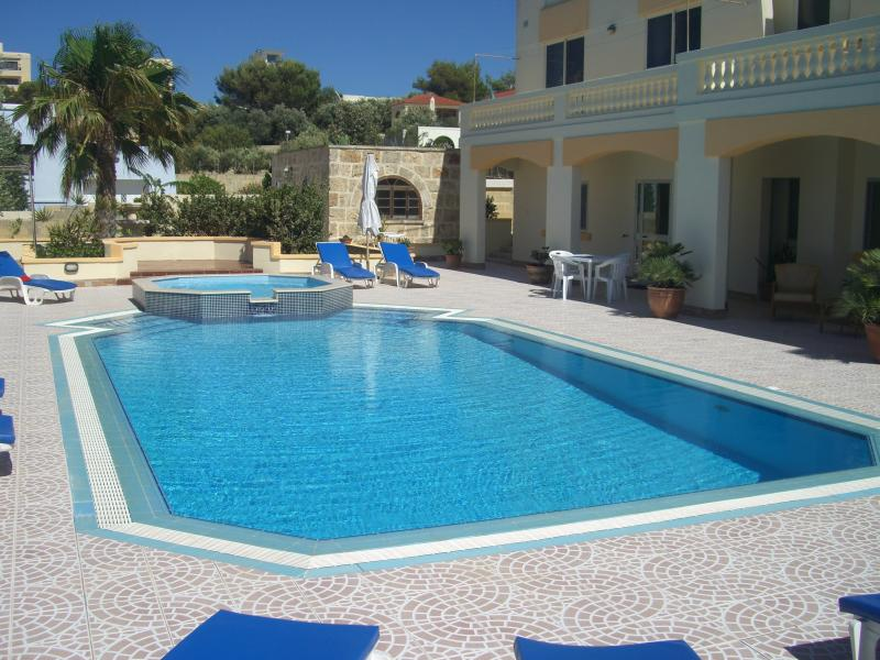 Swimming Pool and surrounding terrace